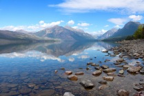 Lake McDonald in Glacier National Park.