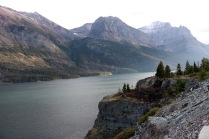 Saint Mary Lake is the second largest lake in Glacier National Park.