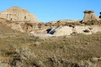 Badlands in Dinosaur Provincial Park.