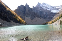 Lake Agnes in Banff National Park.