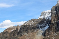 Beautiful scenery at the end of the Plain of Six Glaciers trail in Banff National Park.