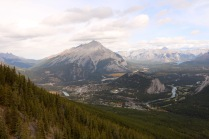 Banff Gondola ride to the top of Sulphur Mountain in Banff National Park.