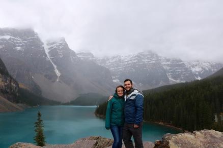 Moraine Lake in Banff National Park .