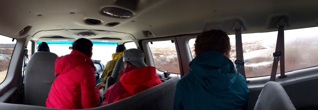 Our rainy day tour around Churchill, Manitoba with our friendly Bluesky hosts