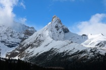Hilda Peak along the Icefields Parkway
