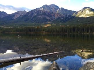 Pyramid Mountain in Jasper National Park