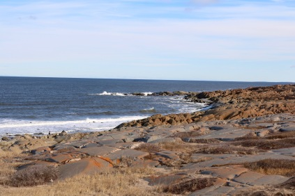 The shoreline of Hudson Bay at Munck Park, Churchill, Manitoba