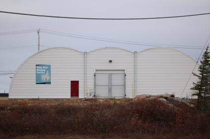 The Polar Bear Holding Facility (AKA Polar Bear Jail) in Churchill, MB