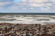 The shoreline of Hudson Bay, Churchill, Manitoba