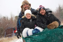 Us and our Musher, Gerald