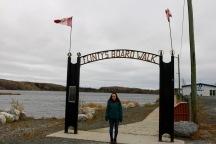 Flinty's Boardwalk along Ross Lake in Flin Flon, MB