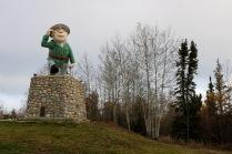 Statue of Flinty