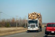 Logging towns in Northern Alberta