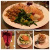 Our delicious Thanksgiving Feast at Ricky's in Prince Albert, SK