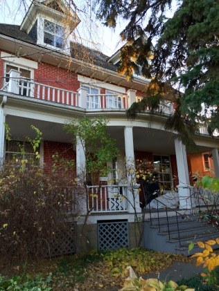 Our humble abode in Old Strathcona