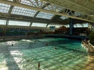 Swimming pool at West Edmonton Mall