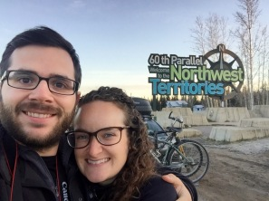 We finally made it to the 60th parallel and the Alberta/NWT border!!