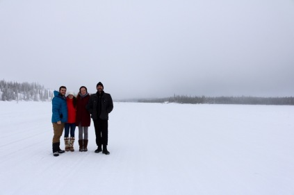 Exploring the Ice Roads off Ingraham Trail