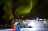 After the Royal Ball, we came out of the castle to find the northern lights dancing and swirling above us! What a spectacular way to finish off an awesome celebration!