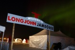 Northern lights over the Long John Jamboree