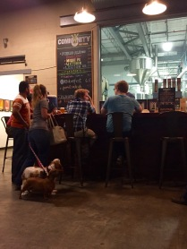 Trivia Night at Community Beer Co. in Dallas Texas - dogs are welcome!