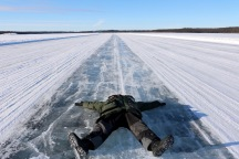 Risky business on the Dettah Ice Road