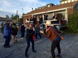 Dinner and Dancing at the Beer Barge