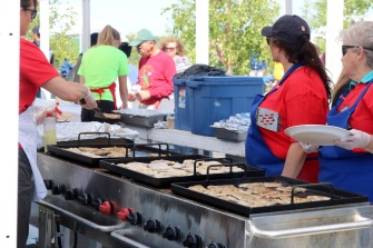 Free Aboriginal Day fish fry.