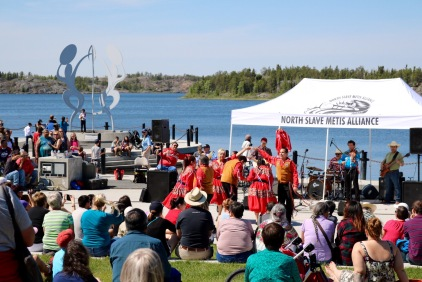 Somba Ke Plaza for Aboriginal Day.