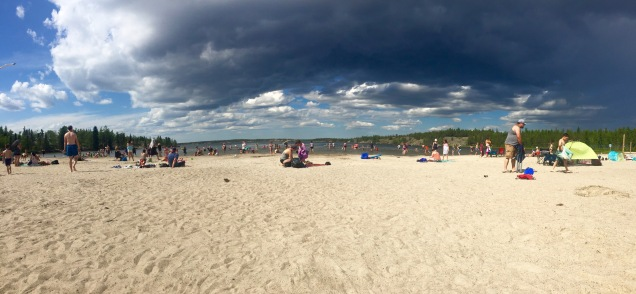 Long Lake Beach Day