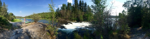 Rapids at Cameron River