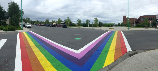 Yellowknife is in the spirit for Pride Weekend!