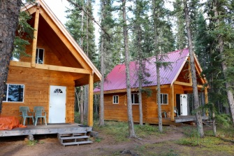 Nahanni Mountain Lodge New Cabins
