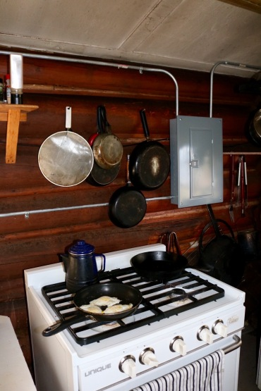 Nahanni Mountain Lodge Kitchen Cabin